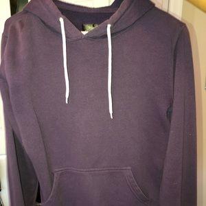 Tillys purple pull over hoodie